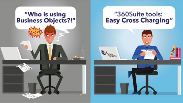 Business Objects cross-charging