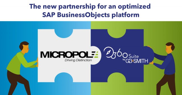 Micropole & 360Suite by GB&SMITH are proud to announce a partnership