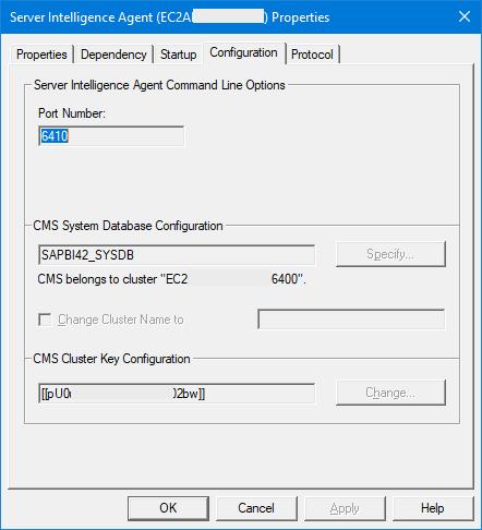 Customize Your SAP BOBJ Cluster Name