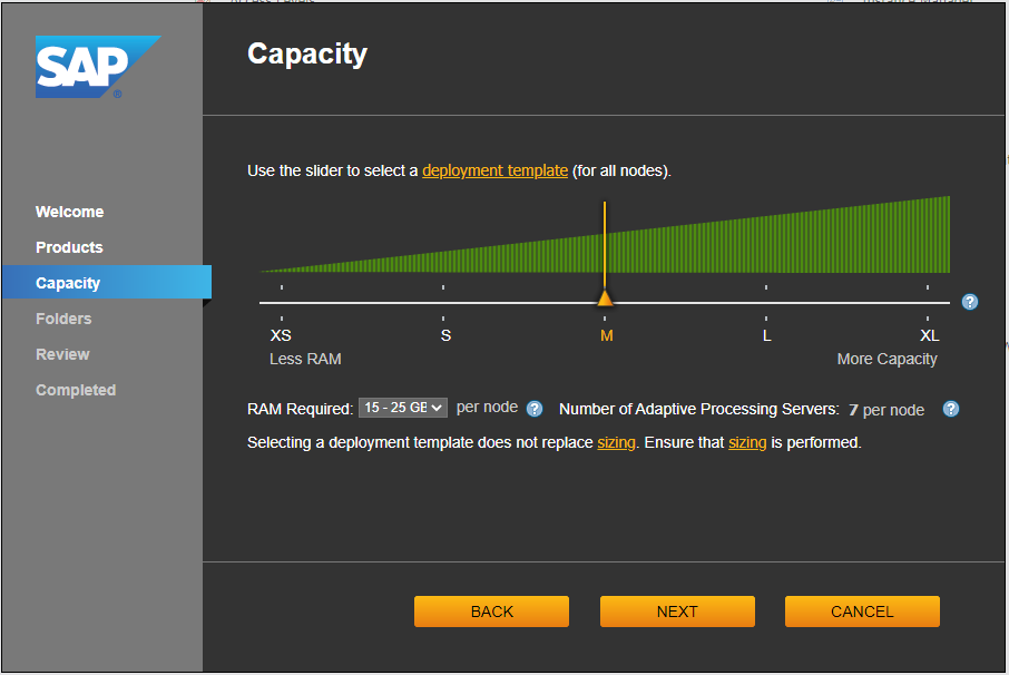 SAP BOBJ System Configuration Manager